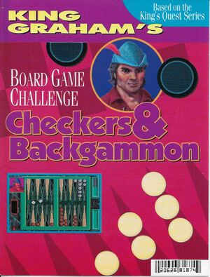 King Graham's Board Game Challenge cover