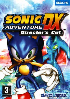 Sonic Adventure DX cover