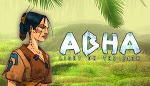 """Abha """"Light on the Path"""" cover"""