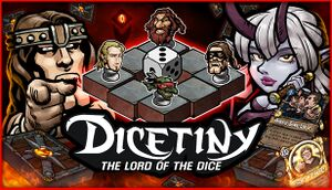 Dicetiny: The Lord of the Dice cover
