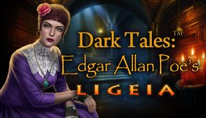 Dark Tales: Edgar Allan Poe's Ligeia Collector's Edition cover