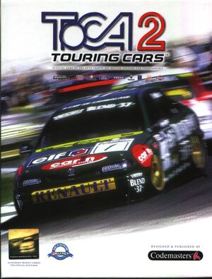 TOCA 2 Touring Cars cover