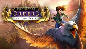 The Secret Order 3: Ancient Times cover