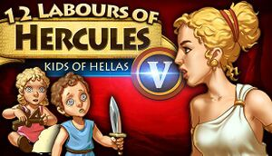 12 Labours of Hercules V: Kids of Hellas cover