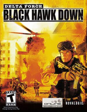 Delta Force: Black Hawk Down cover
