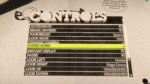 Controls (Keyboard) 2/2