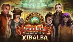 Joan Jade and the Gates of Xibalba cover