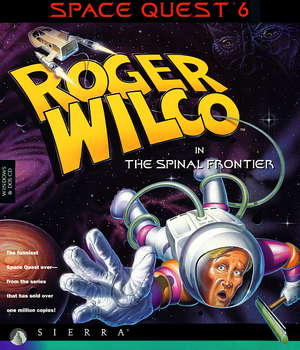 Space Quest 6: Roger Wilco in The Spinal Frontier cover