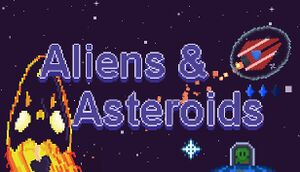 Aliens&Asteroids cover