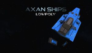Axan Ships - Low Poly cover