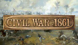 Civil War: 1861 cover