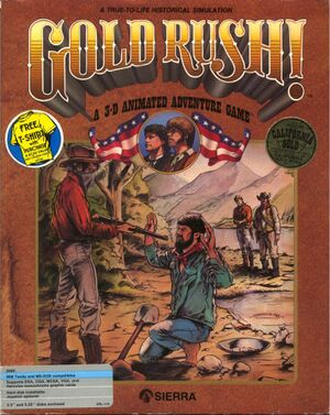 Gold Rush! cover