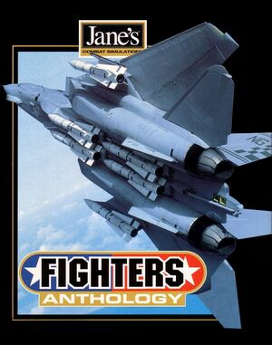 Jane's Fighters Anthology cover