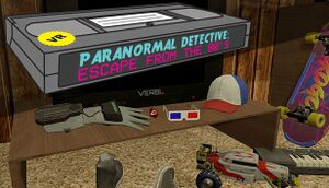 Paranormal Detective: Escape from the 80's cover
