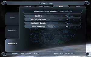 In-game advanced video settings (2/2).