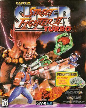 Super Street Fighter II Turbo cover