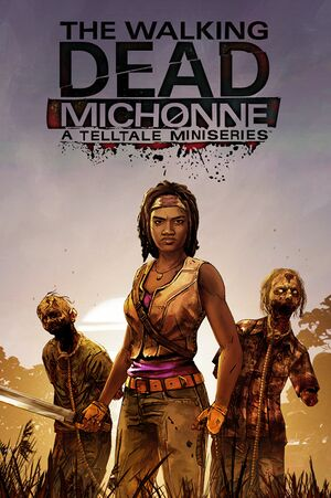 The Walking Dead: Michonne cover