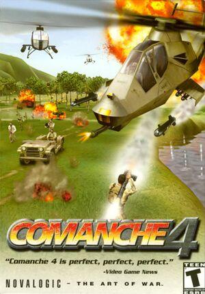 Comanche 4 cover