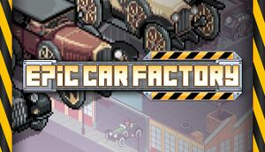 Epic Car Factory cover