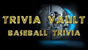 Trivia Vault: Baseball Trivia cover