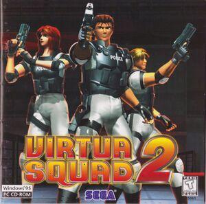 Virtua Cop 2 cover