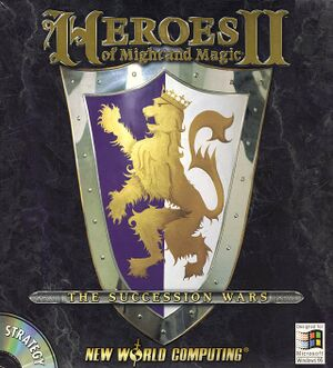 Heroes of Might and Magic II cover