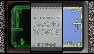 The Adventures of Elena Temple cover