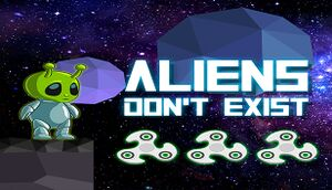 Aliens Don't Exist cover