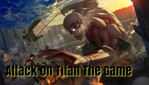 AoT: Attack on Titanous The Game cover