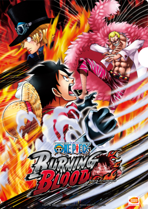 One Piece: Burning Blood cover