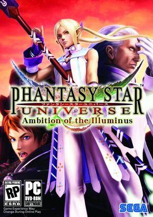 Phantasy Star Universe: Ambition of the Illuminus cover