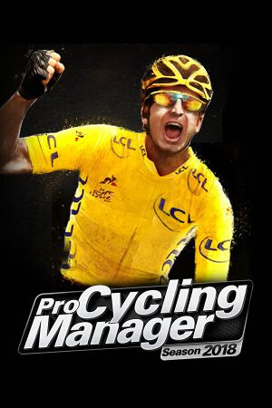 Pro Cycling Manager 2018 cover