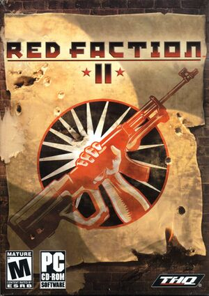 Red Faction II cover