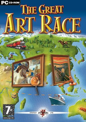The Great Art Race cover
