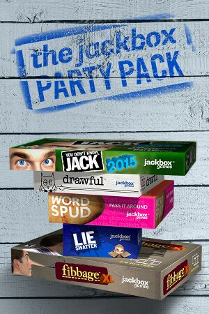 The Jackbox Party Pack cover