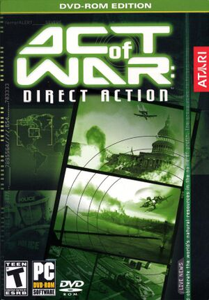 Act of War Direct Action cover.jpg