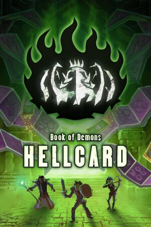 Book of Demons: Hellcard cover