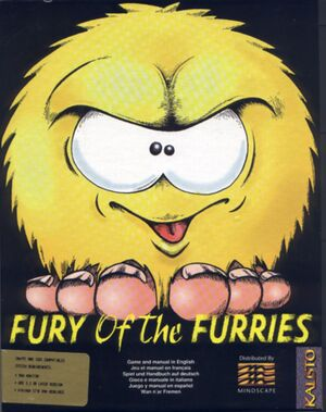 Fury of the Furries cover