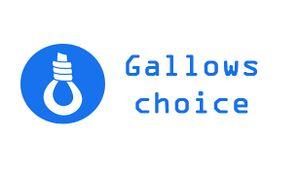 Gallows Choice cover
