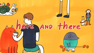 Here AND there cover