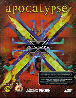 X-COM: Apocalypse cover