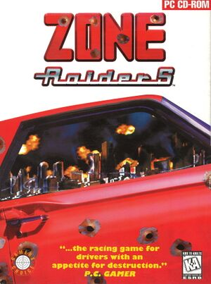 Zone Raiders cover