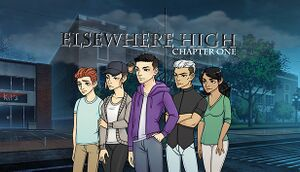Elsewhere High: Chapter 1 - A Visual Novel cover