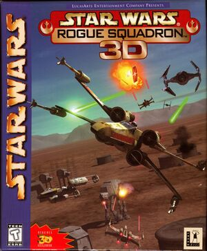 Star Wars: Rogue Squadron 3D cover