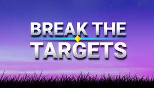 Break the Targets cover