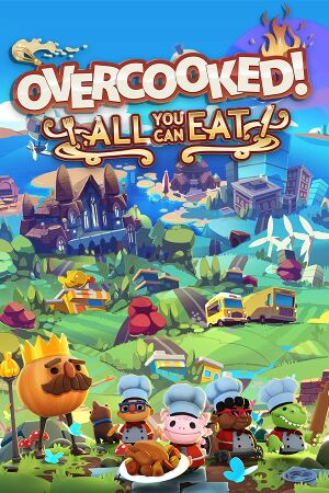 Overcooked! All You Can Eat cover