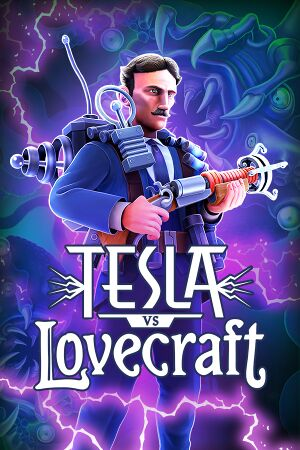 Tesla vs Lovecraft cover