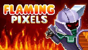 Flaming Pixels cover
