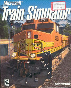 Microsoft Train Simulator cover