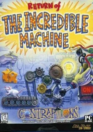 Return of the Incredible Machine: Contraptions cover